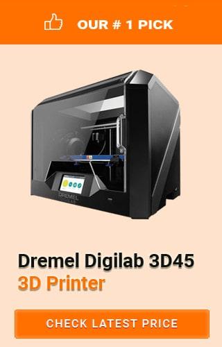 Dremel Digilab 3D Printer, Best 3D Printer for Miniatures, Affordable 3d Printer