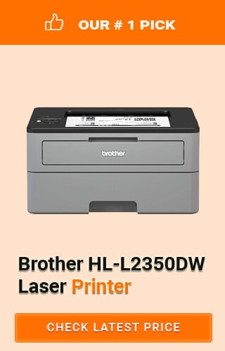 Brother HL-L2350DW Laser Printer, Best Printer for Chromebook