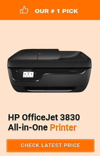 HP OfficeJet 3830 All-in-One Printer, Best All in One Printers Under 100