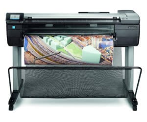 hp designjet t830 mfp, best large format printer for photography