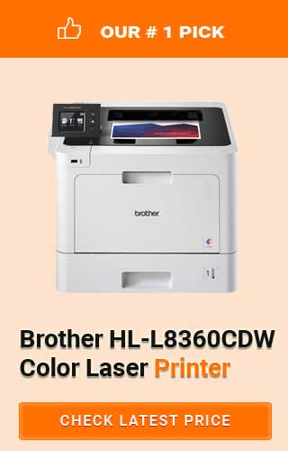 Brother HL-L8360CDW Printer, Best Color Laser Printers for Graphic Designers